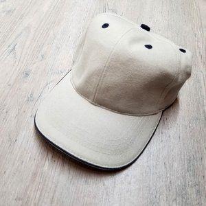 Vintage Khaki Twill Baseball Hat. Perfect Shape!